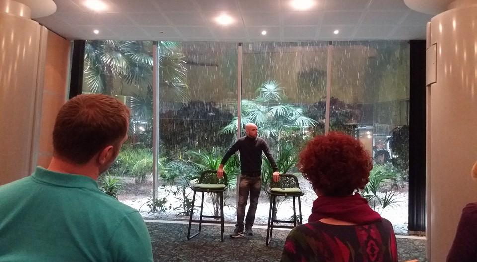 Prat CR palmiers neige